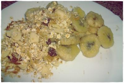 Banana+aveia..