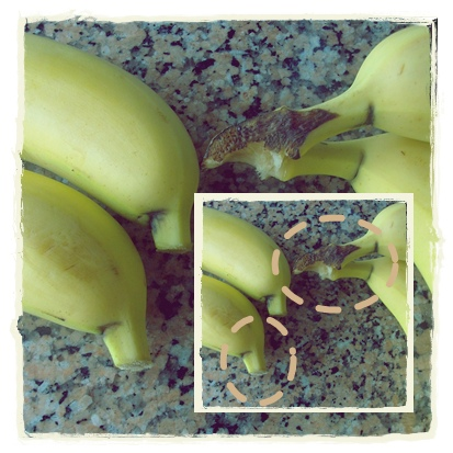 Conservar bananas