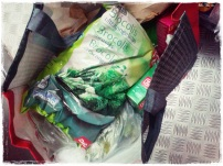 Algumas compras :D Brocolos nao pode faltaaaar, nuncaaa!