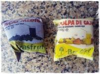 A Polpa de Açai como com a banana madura (trituro). <3 So good