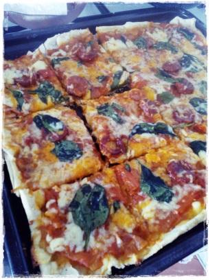 Eu nao encomendo pizza faço mesmo em casa c os ingredientes que gosto