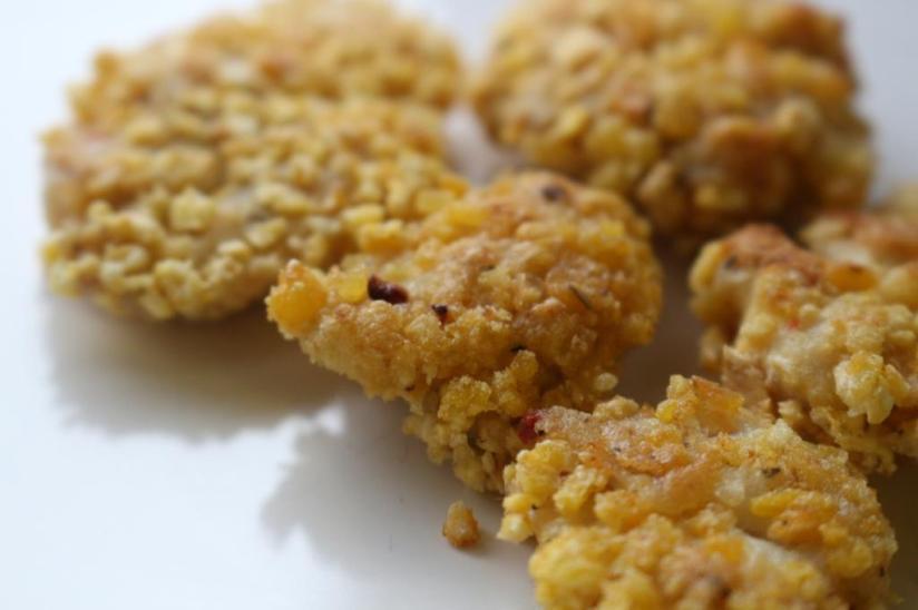 Chicken Nuggets Joana Banana Blog Fitness Portugal Receitas Dieta Myprotein Ginasio Musculaçao Mulher