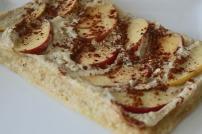 capa tarte maça fit com whey pancake mix myprotein portugal dieta