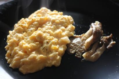 Ovos mexidos + Cogumelos