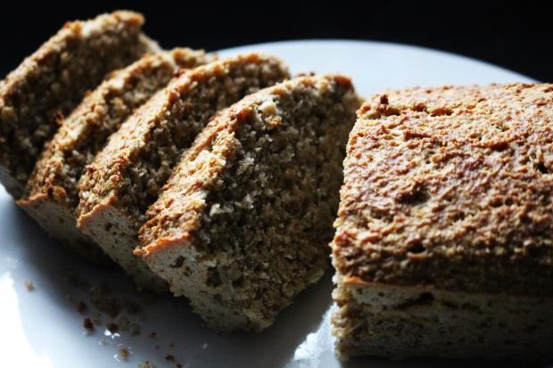 Pão Saudável Amêndoas E Aveia