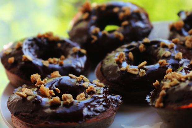 Donuts Saudáveis De Chocolate Sem Gluten