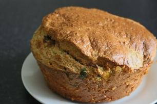 Torta de frango, aveia e queijo quark saudável. Receitas fit. Joanabbl Youtube (14)