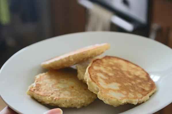 Panquecas farinha de milho