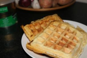 Waffles saudáveis