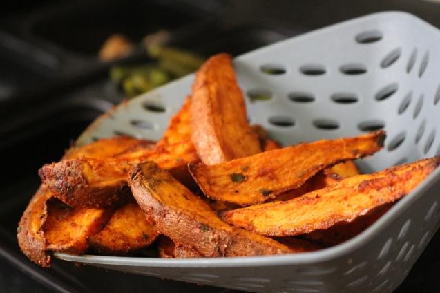 Marmitas Saudáveis - batata doce assada no forno