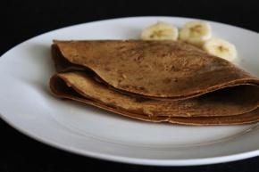 Crepes de proteína Whey sem farinha